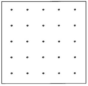 Blank Geo-Board Overlay