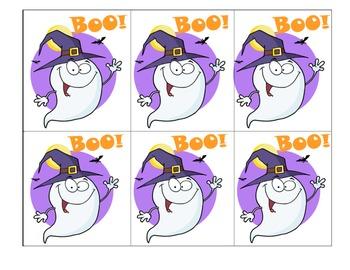Blank Ghost Hunt Cards *FREEBIE*