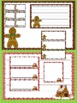 "Blank ""Gingerbread Village"" Labels, Pages, Stationery, and Center Signs"