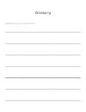 Glossary Paper