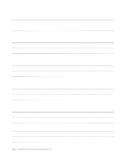 Blank Grammar Notebook Page