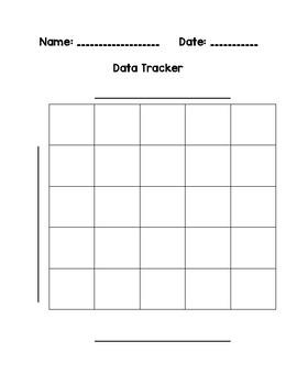 Blank Graph Template By The Carrot Top Teacher