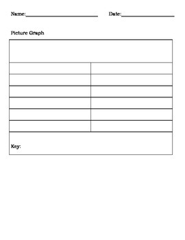 Blank graph templates tally table picture graph and for Frequency table template
