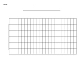 Blank Graph - for Pictographs and Bar Graphs
