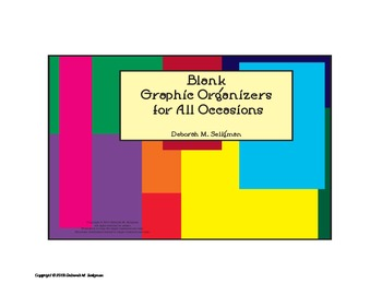 Blank Graphic Organizers For All Occasions Printables