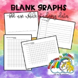 Blank Graphs (Tally Charts, Picture Graphs, Bar Graphs, Line Plots)