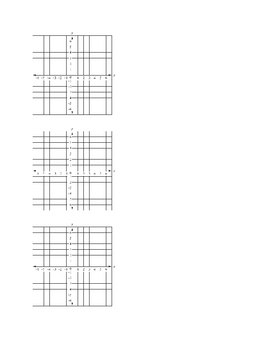 Blank Graphs for Graphing Practice