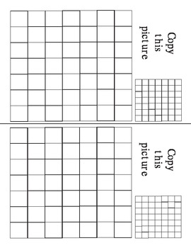 Blank Grid Art