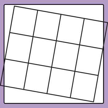 Blank Grid Templates 02 Clip Art Set for Commercial Use