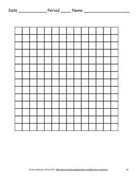 Blank Grids - Ten by Ten and Fourteen by Fourteen