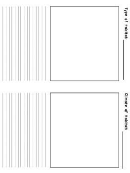 Blank Habitat Research Journal
