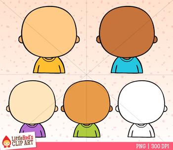 Blank Heads Clip Art