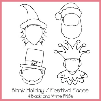 Blank Holiday / Festival Faces