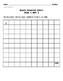 Blank Hundred's Chart