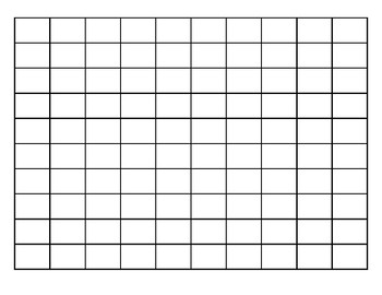 Blank Hundreds Chart (Editable)