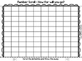 Blank Hundreds Chart (SCROLLING!)