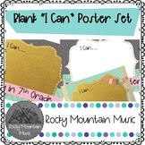 "Blank ""I Can"" Poster Bundle Set"