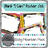 Blank I Can Poster Bundle Set
