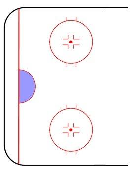 Blank Ice Hockey Rink !