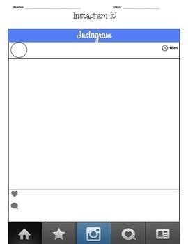 Instagram Template Pack by Teacher Spot's Teacher Resources ...
