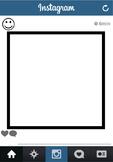 Blank Instagram Template Worksheet