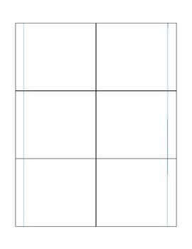 Blank Interactive Notebook Template