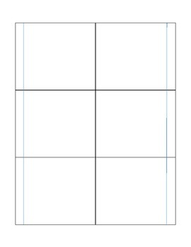 Blank Interactive Notebook Template