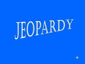 Blank Jeopardy Game Template: 4 Category Jeopardy