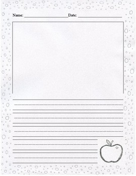 Blank Journal Entry Paper for All Year