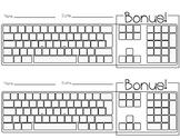 Blank Keyboard Practice