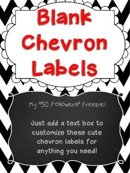 Blank Label Freebie!