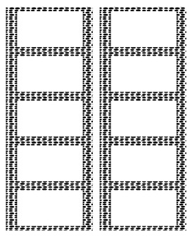 Blank Labels Black Dots from The Uncluttered Teacher