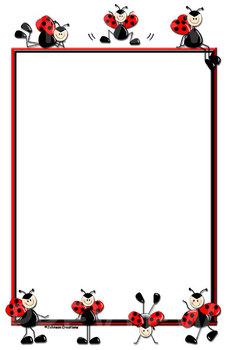 """Blank Ladybug 11"""" x 17"""" Chart"""