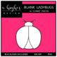 Blank Ladybugs Clipart {A Hughes Design}