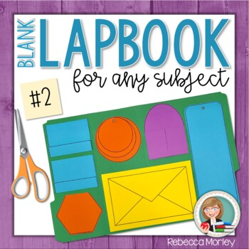 Blank Lapbook #2 (For Any Subject)