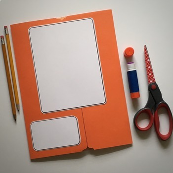 Blank Lapbook #4 (For Any Subject)