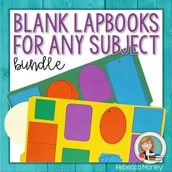 Blank Lapbook Bundle