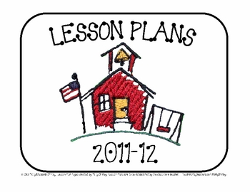 Blank Lesson Plan Pages for ELAR and Social Studies 2011-12