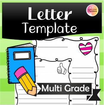 Blank Letter Template