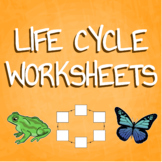 Blank Life Cycle Graphic Organizers