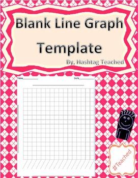 Blank Line Graph Template