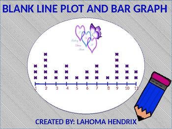 Blank Line Plot and Blank Bar Graph