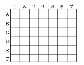 Blank Map Grid