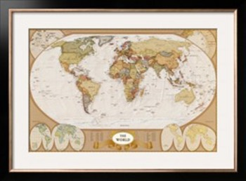 Blank Map Templates for History and Geography