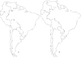 Blank Maps to Print and Label