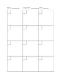 Blank Math Worksheet