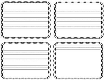 Blank Mini Book for Writing