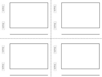 It's just an image of Tactueux Free Printable Mini Book Template
