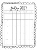 Blank Monthly Calendars 2017-2018 {FREEBIE!}