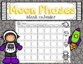 Blank Moon Phases Calendar Freebie